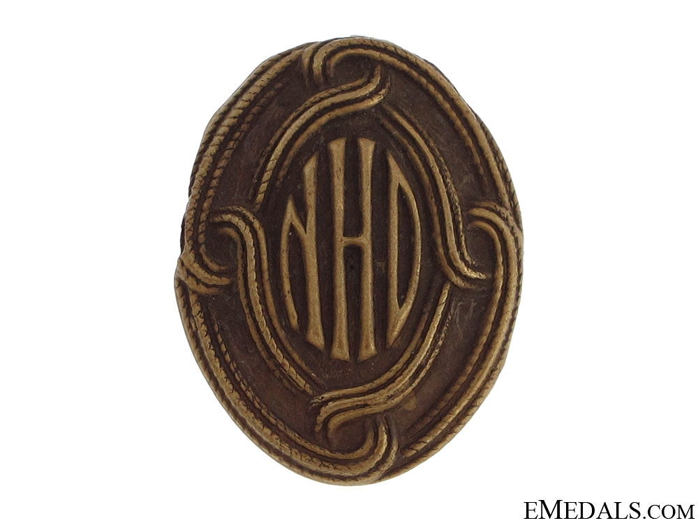 eMedals-WWII Home Army Cap Badge