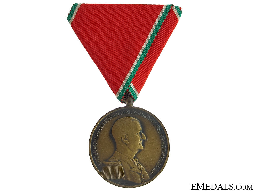 eMedals-WWII Hungarian Bravery Medal