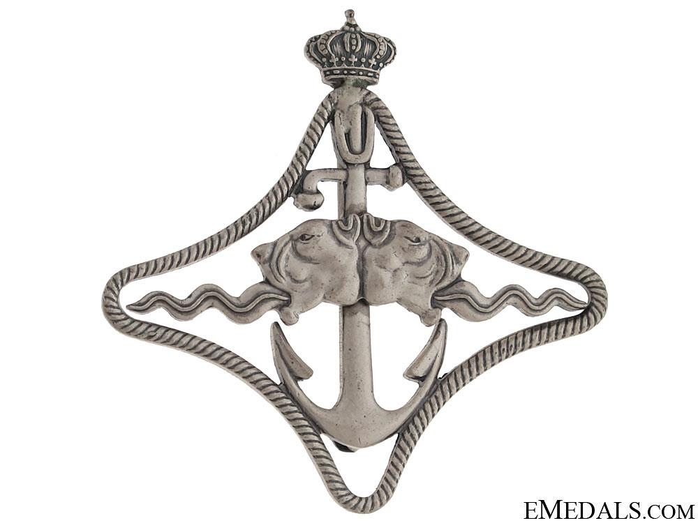 eMedals-WWII Italian Naval Battleship Badge