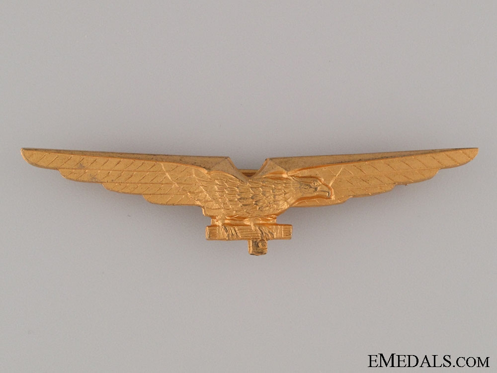 eMedals-WWII Italian Pilot Badge