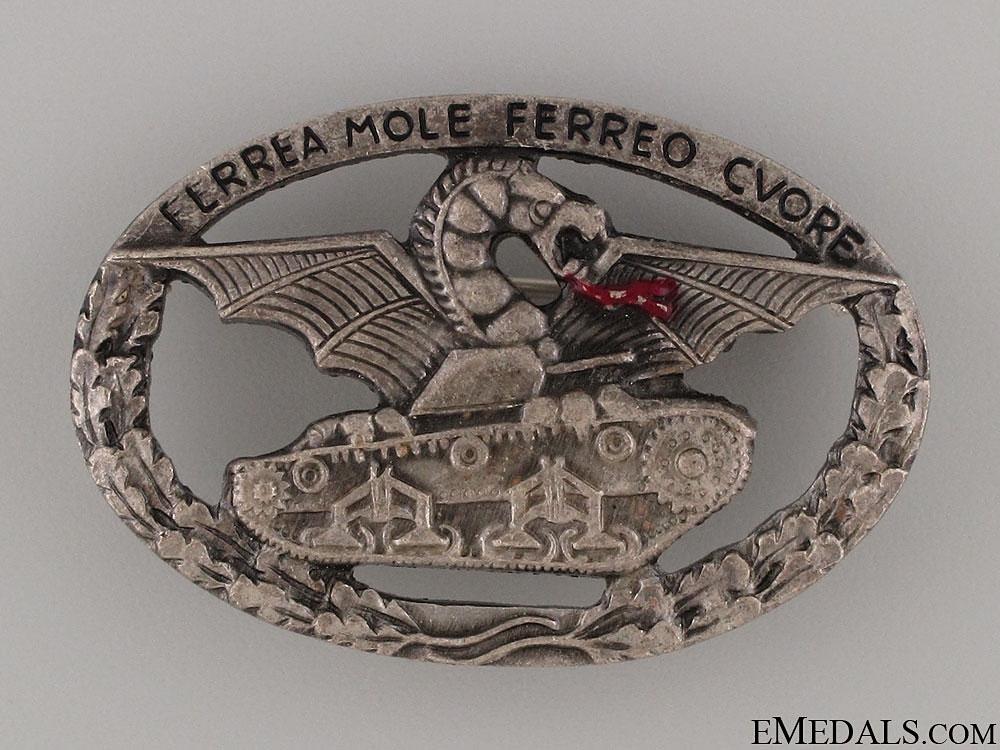 eMedals-WWII Italian Tank Crew Badge