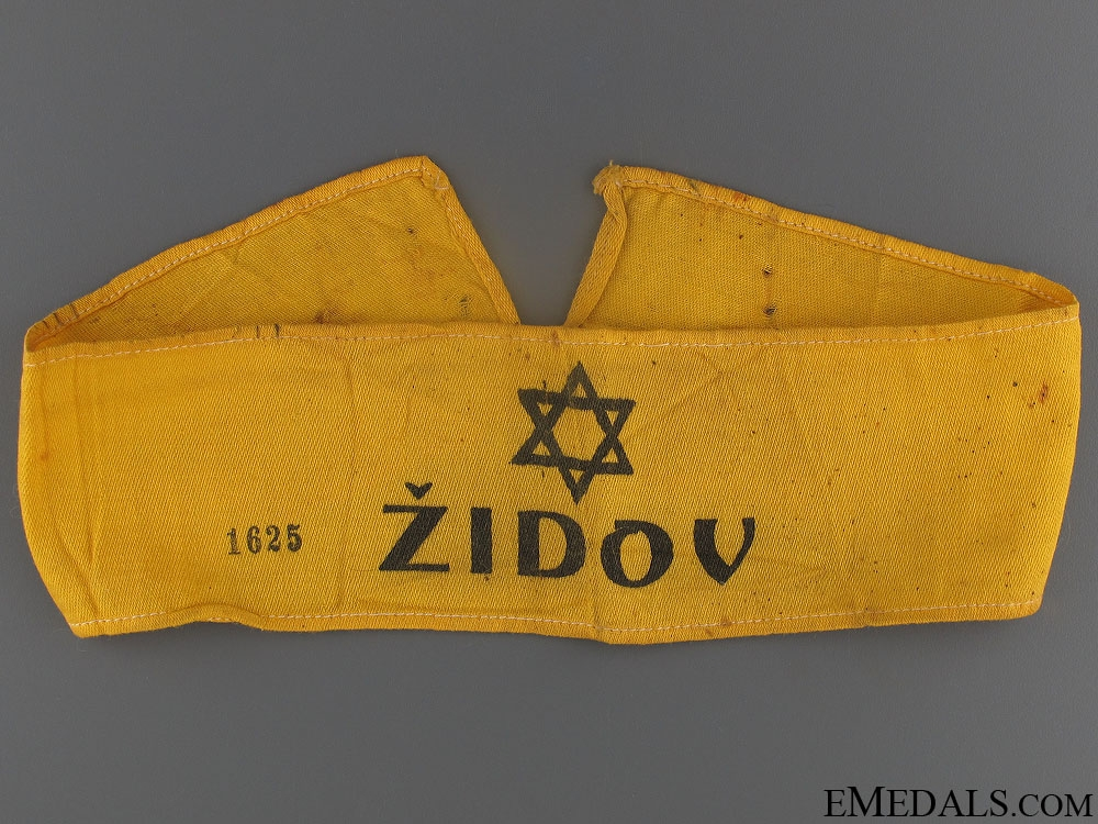 eMedals-WWII Jewish National Group Armband
