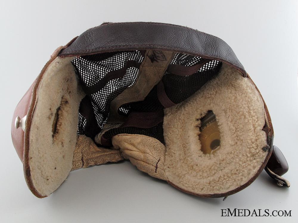 eMedals-WWII Luftwaffe Model L Kp N 101 Summer Flying Helmet