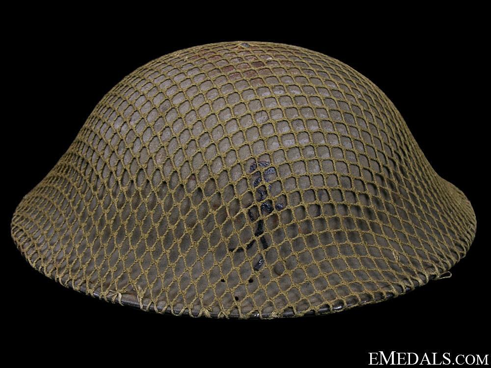 eMedals-WWII Mk.II. Army Helmet - Unit Marked