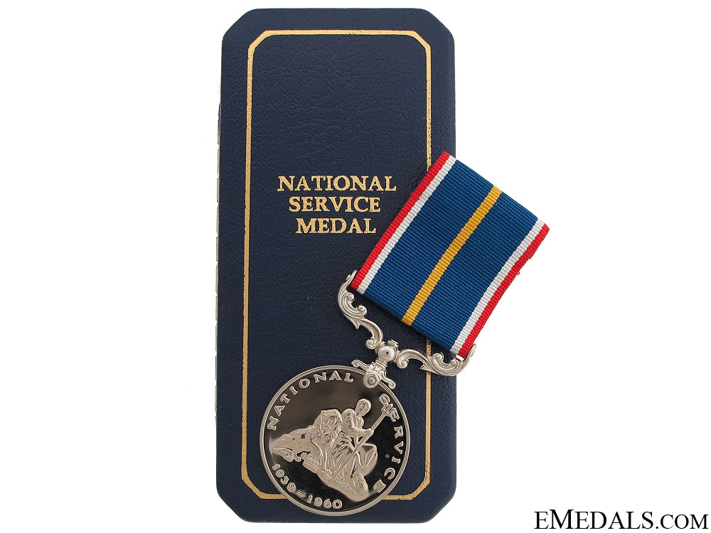 eMedals-WWII National Service Medal