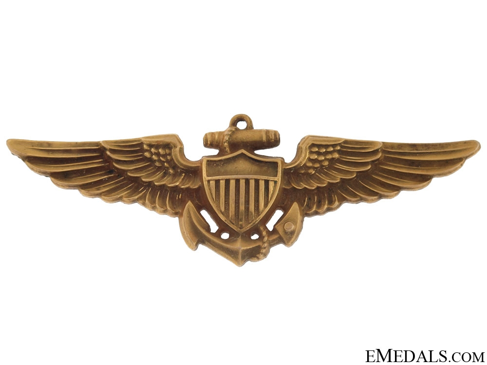 eMedals-WWII Naval Aviator Wings