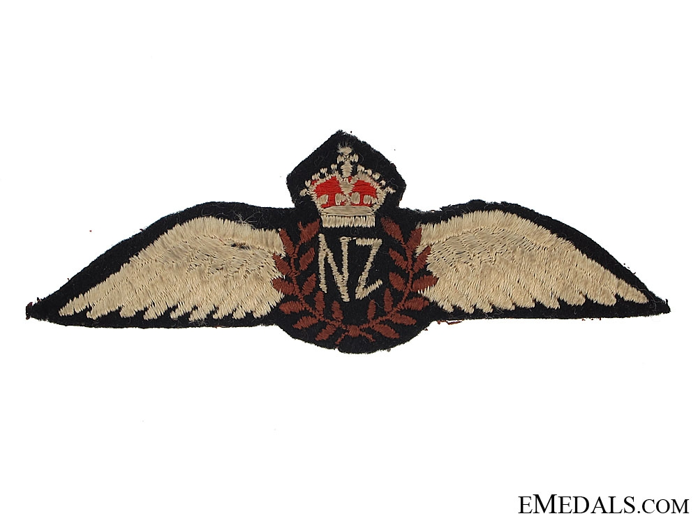 eMedals-WWII New Zealand Pilot Wings