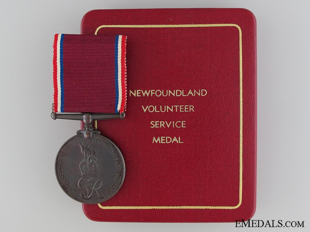 eMedals-WWII Newfoundland Volunteer War Service Medal