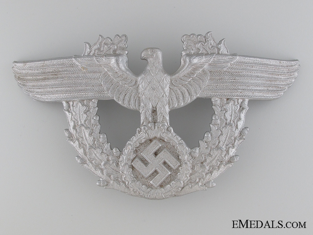 eMedals-WWII Period German Police Shako Eagle