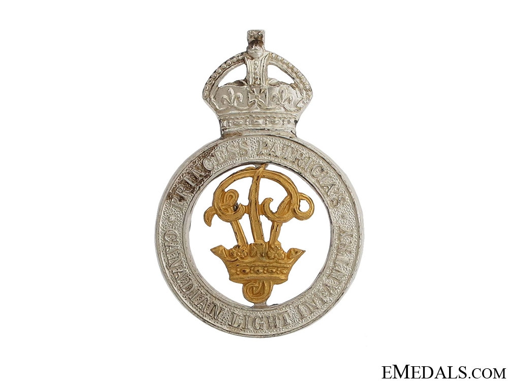 eMedals-WWII PPCLI Officer Cap Badge