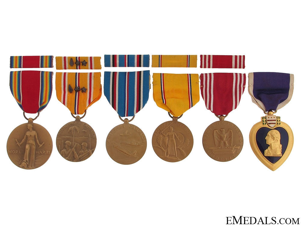 eMedals-WWII Purple Heart Group