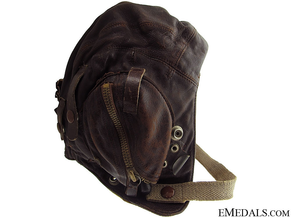 eMedals-WWII RAF Flying Helmet