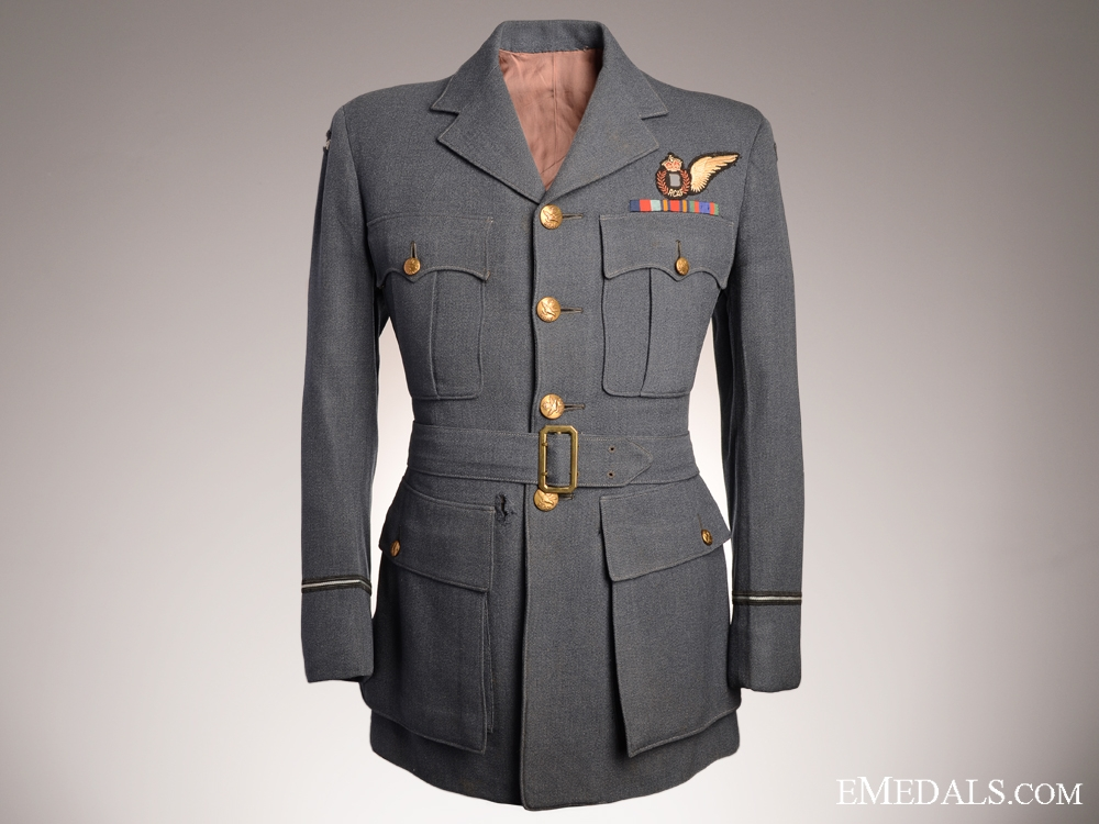 eMedals-WWII RCAF Bombadier Battle Tunic