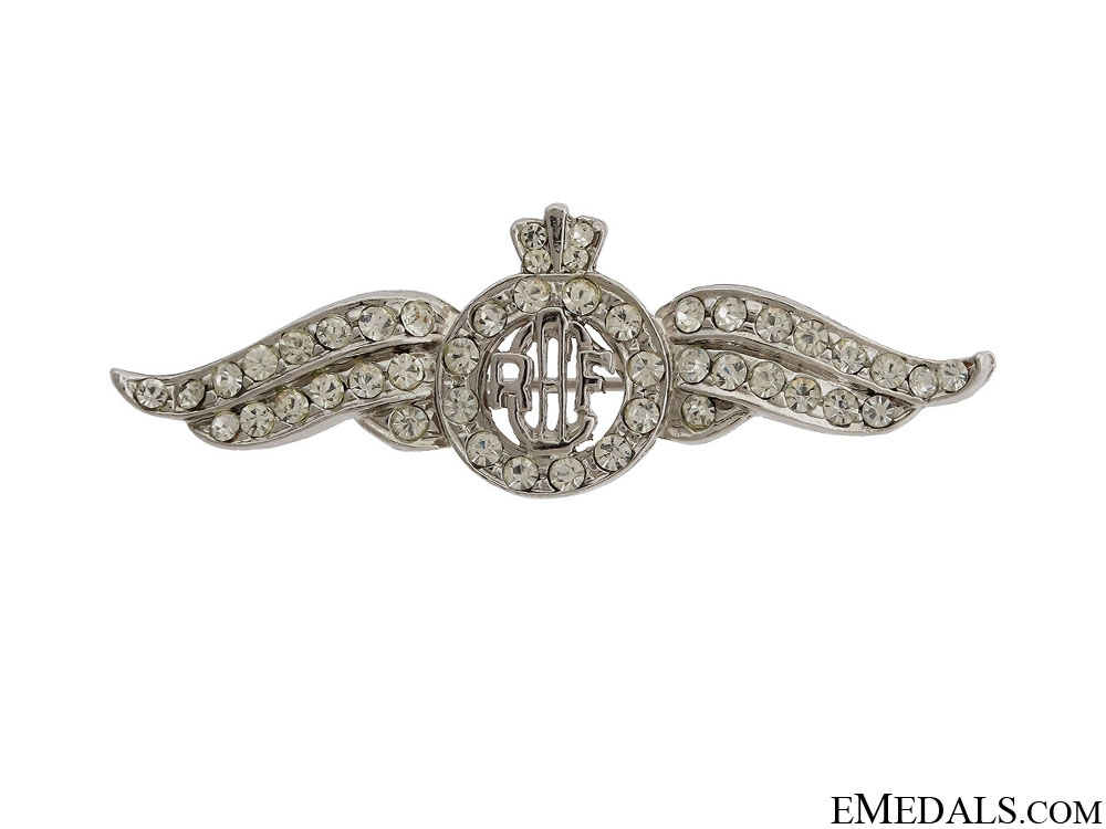 eMedals-WWII RCAF Sweetheart Wings Pin