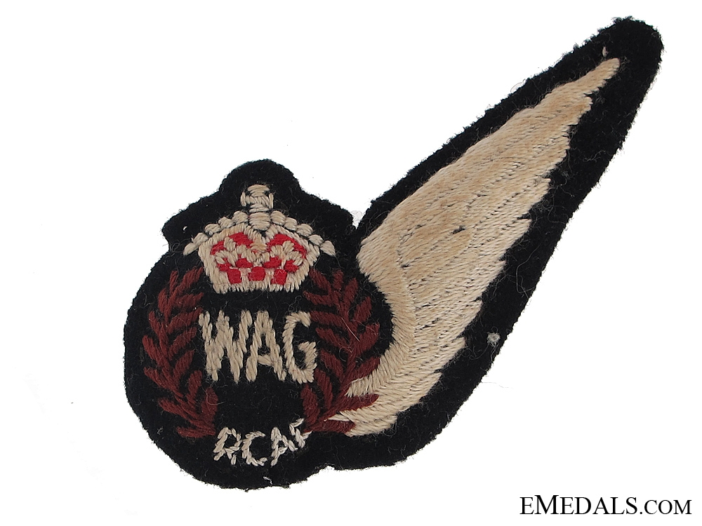 eMedals-WWII RCAF Wireless/Air Gunner's Wing