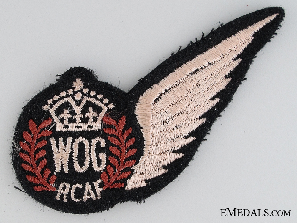 eMedals-WWII RCAF WOG Wing