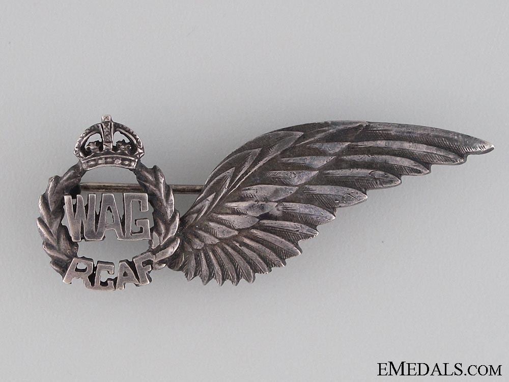 eMedals-WWII RCAF Wireless Air Gunner Wings