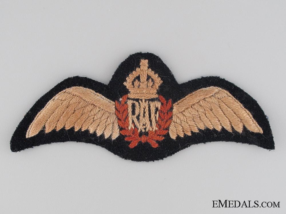 eMedals-A Second War Royal Air Force (RAF) Pilot's Wing