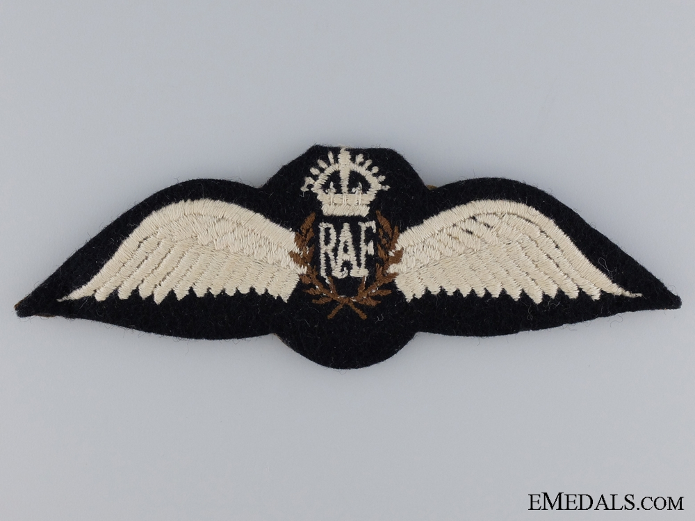 eMedals-WWII Royal Air Force Pilots Wing