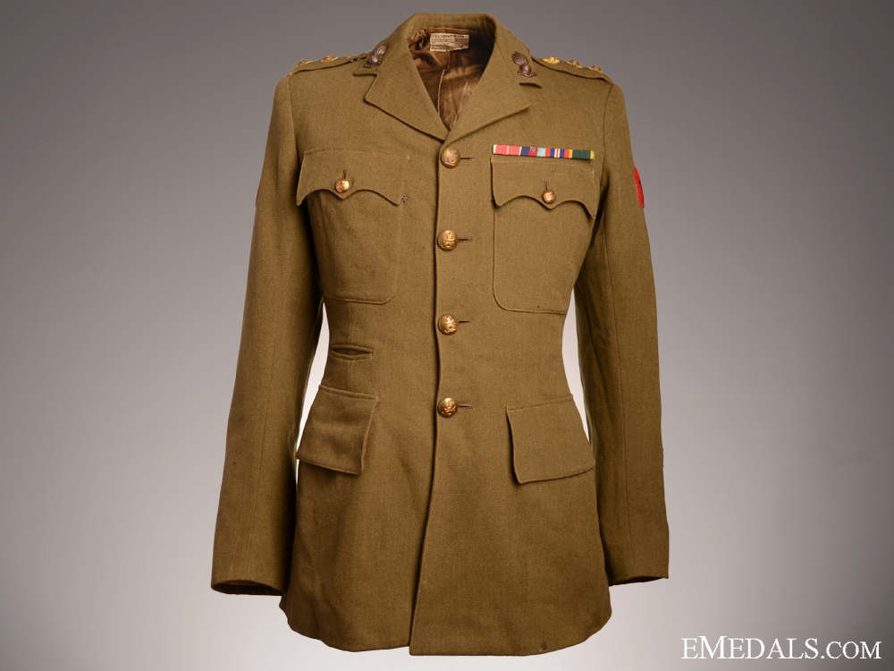 eMedals-WWII Royal Artillery 2nd Lieutenant Tunic