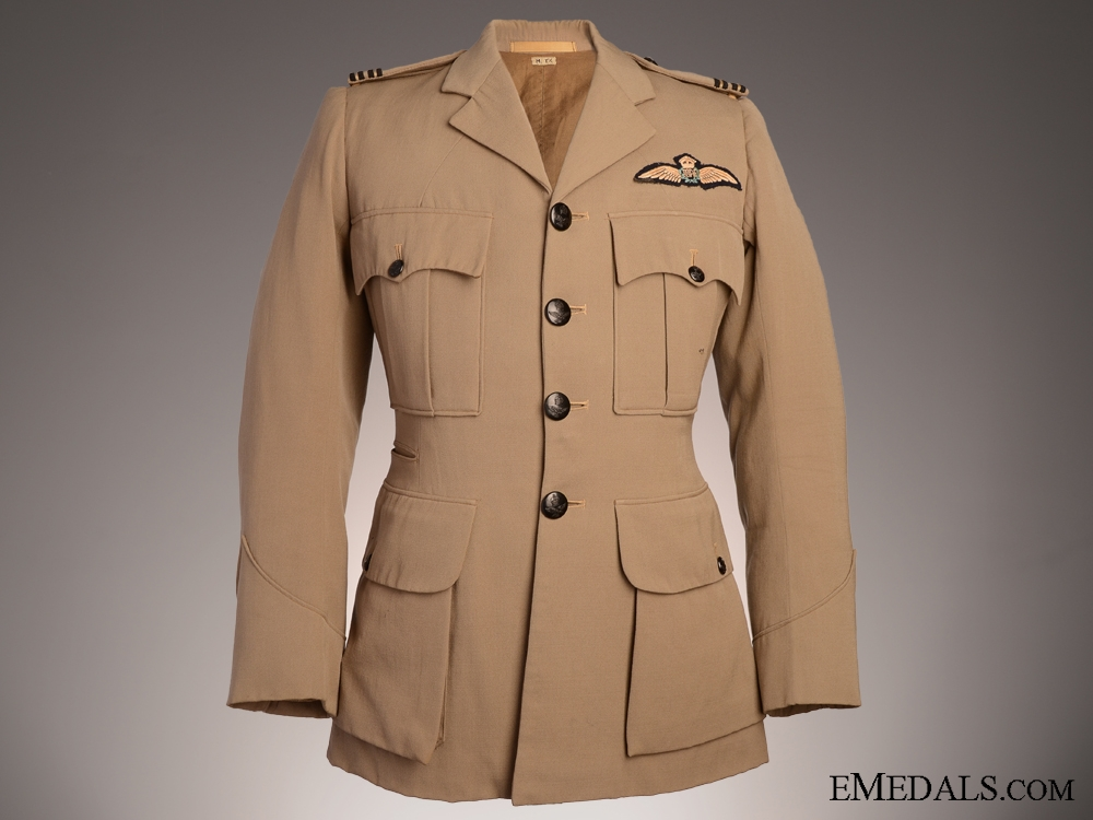 eMedals-WWII Royal Australian Air Force Dress Tunic