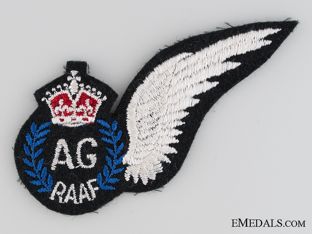 eMedals-WWII Royal Australian Air Force Air Gunner Wing