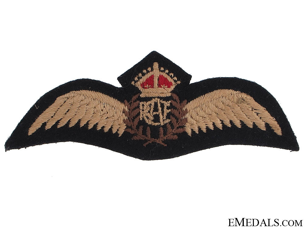 eMedals-WWII Royal Canadian Air Force (RCAF) Pilot's Wings