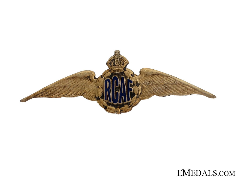 eMedals-WWII Royal Canadian Air Force Wings by Birks