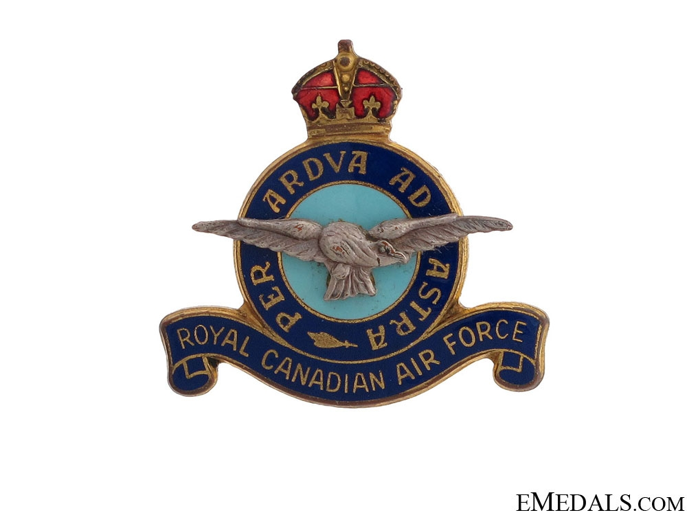 eMedals-WWII Royal Canadian Air Force Pin