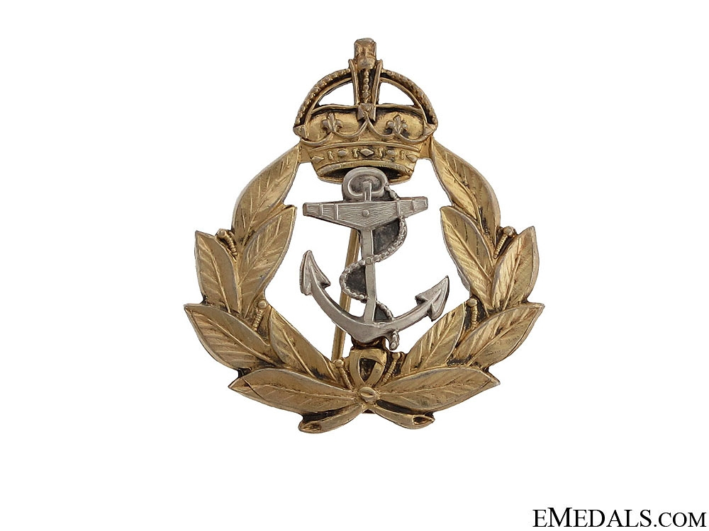 eMedals-WWII Royal Canadian Navy Pin by Birks