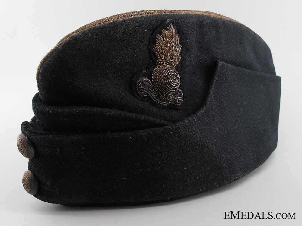 eMedals-WWII Royal Engineers Officer's Side Cap