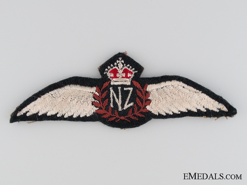 eMedals-WWII Royal New Zealand Air Force Pilot Wings