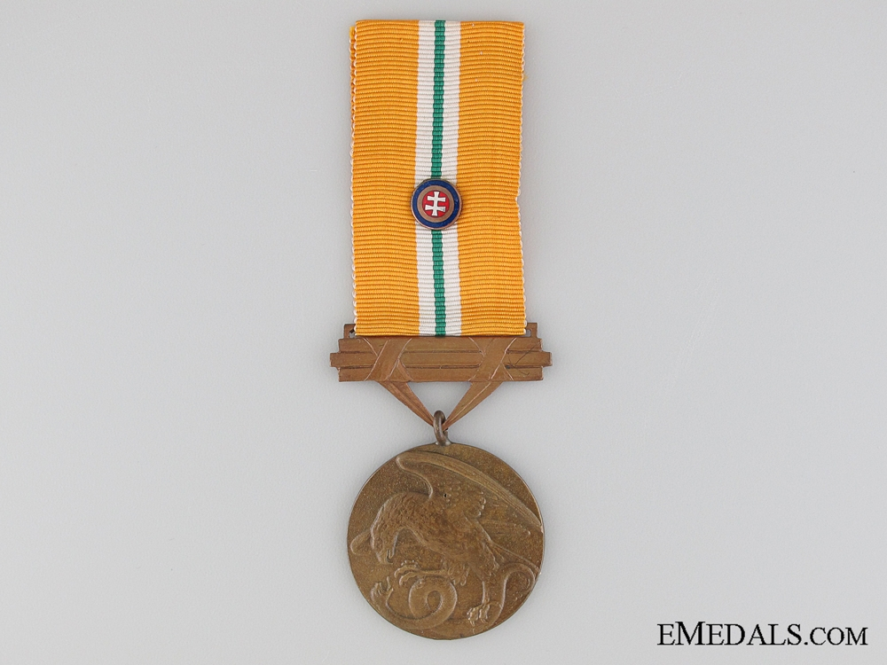eMedals-WWII Slovakian Medal of Bravery 1939