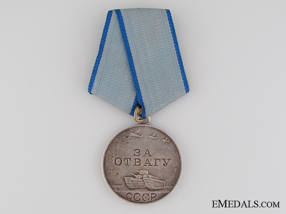 eMedals-WWII Soviet Medal for Bravery