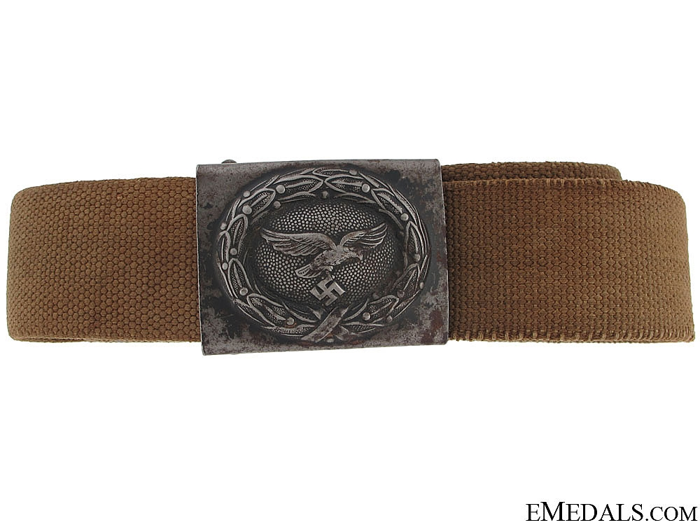 eMedals-WWII Tropical Luftwaffe Belt with Buckle