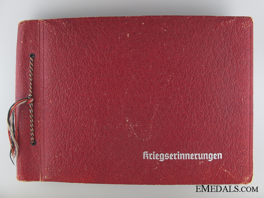 eMedals-WWII Wehrmacht War Memories Photo Album