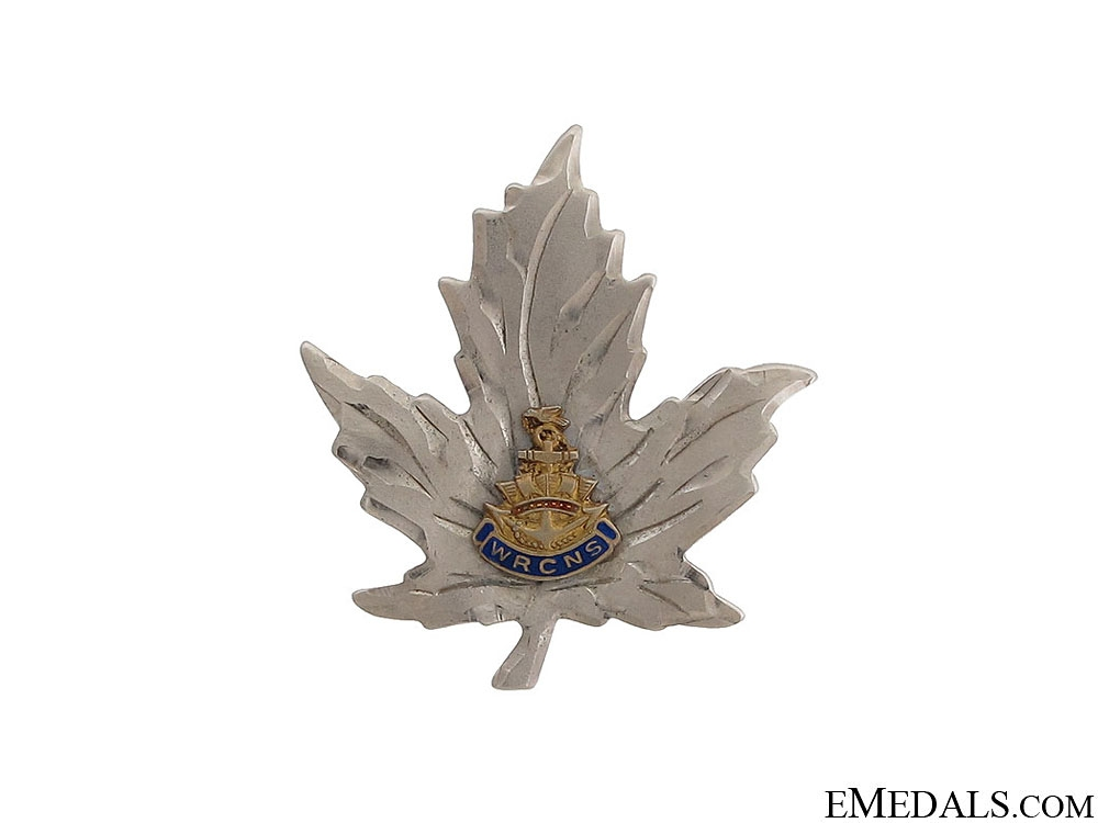 eMedals-WWII Woman's Royal Canadian Naval Service Pin
