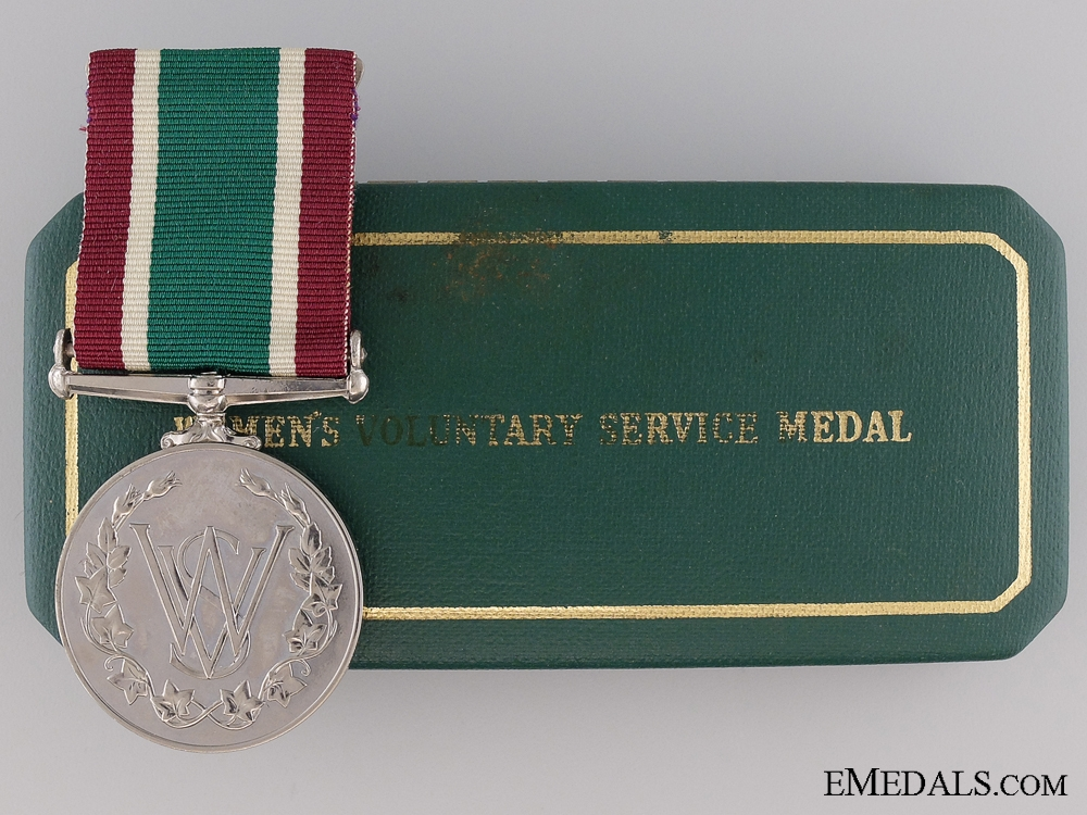 eMedals-WWII Women's Royal Voluntary Service Long Service Medal