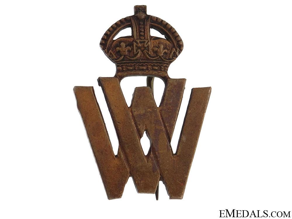 eMedals-WWII Womens Volunteer War Service Badge