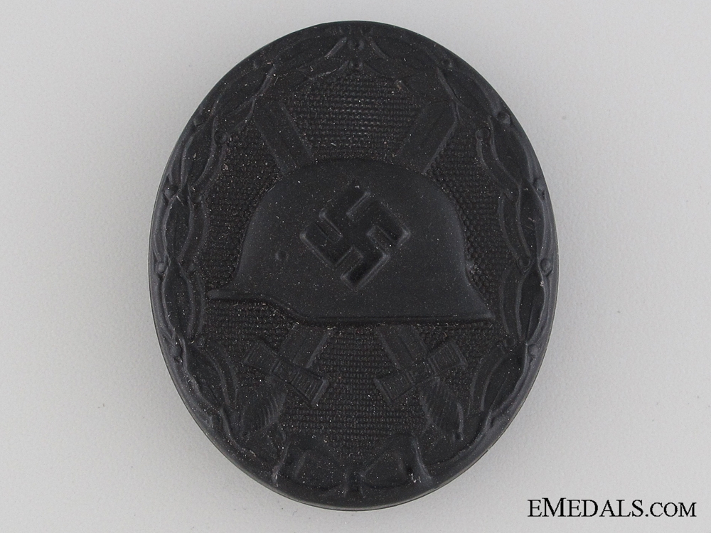 eMedals-WWII Wound Badge - Black Grade