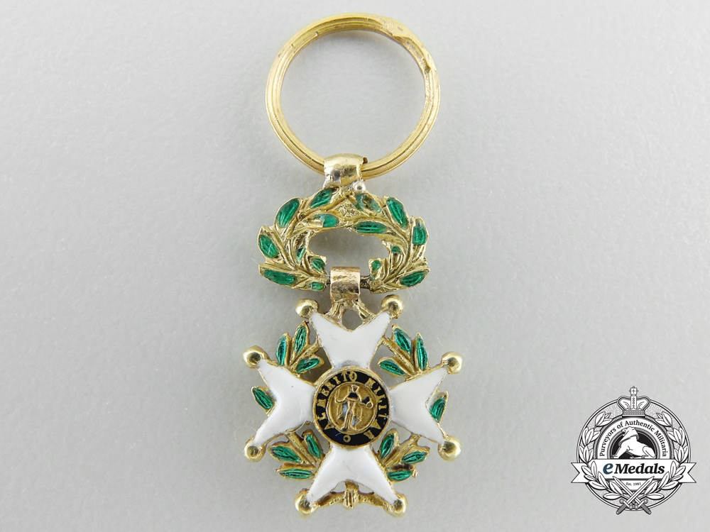 eMedals-A Miniature Royal Military Order of St.Ferdinand in Gold