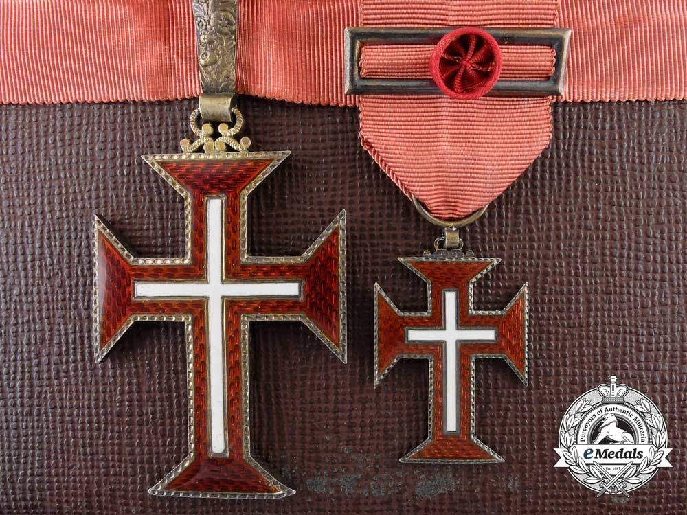 eMedals-Portugal, Kingdom. A Military Order of Christ, Officer, by Frederico Costa