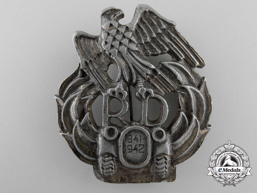 eMedals-A Scarce Second War 1941/43 Slovakian Motorized Units Badge