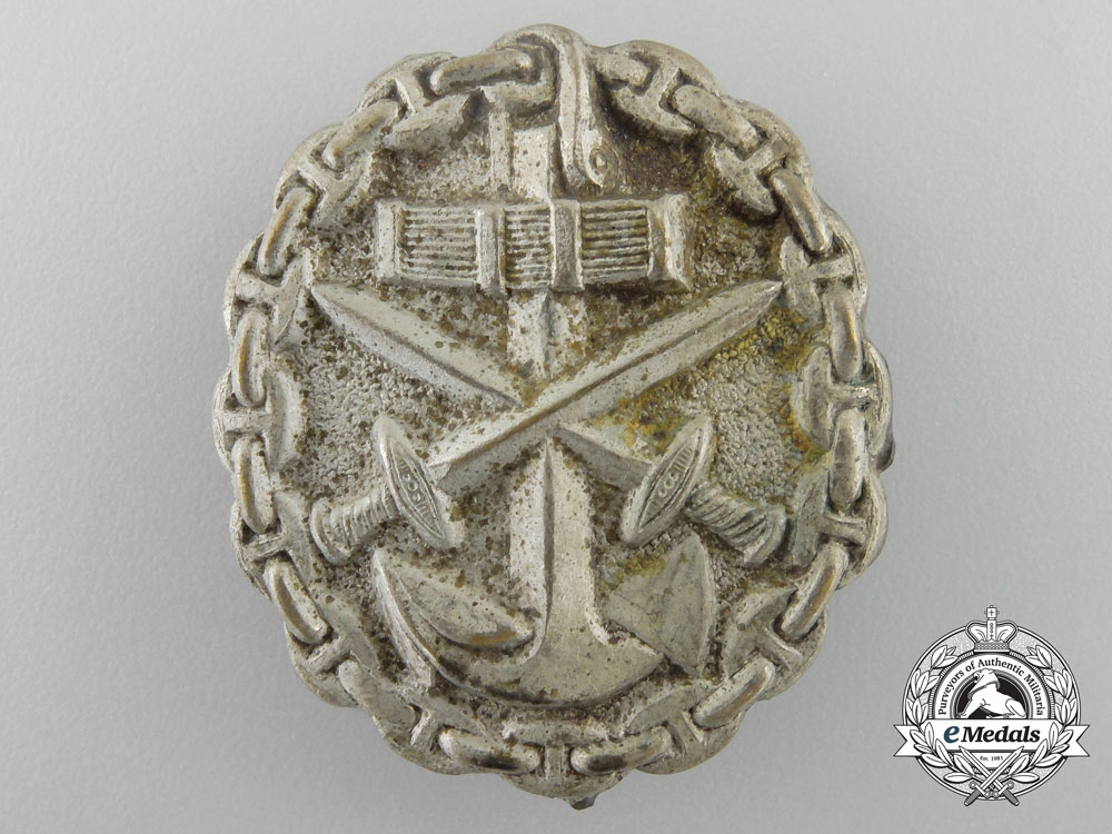 eMedals-Germany, Imperial. A Naval Wound Badge; Silver Grade