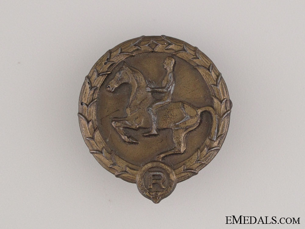 eMedals-Young Horseman's Badge