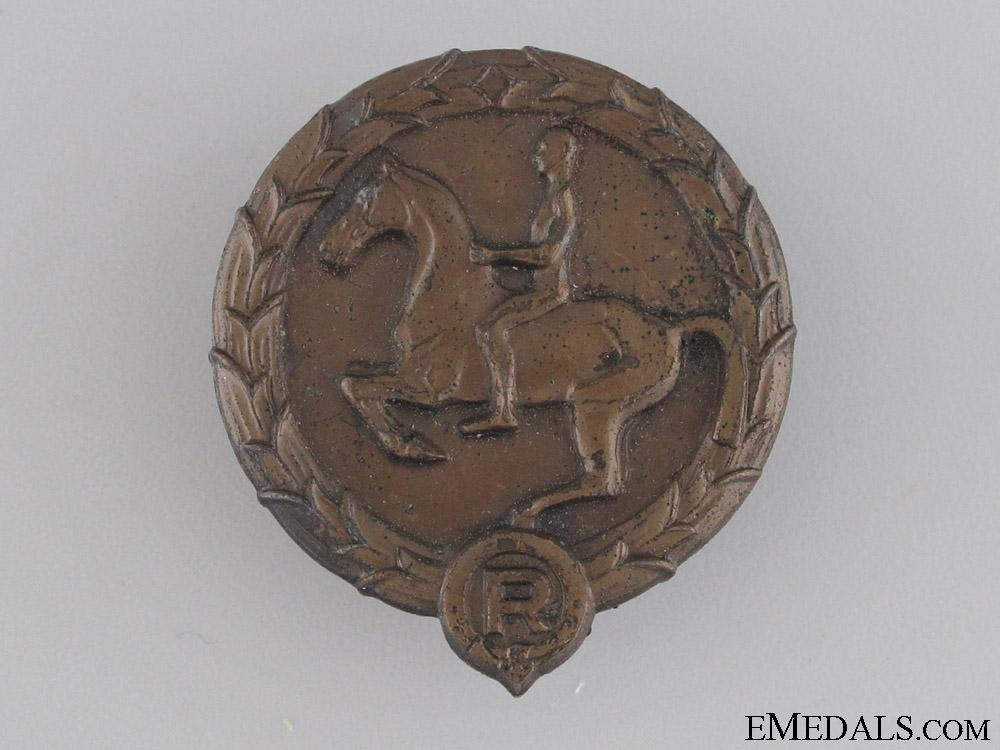 eMedals-Young Horseman's Badge