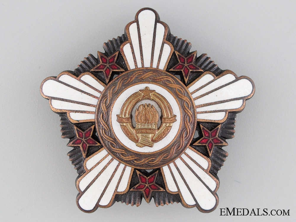 eMedals-Yugoslavian Order of the Republic 1961-1991