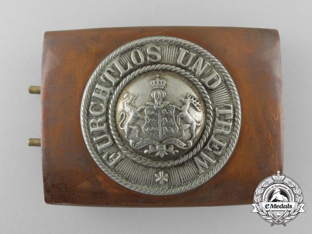 eMedals-A First War Württemberg Belt Buckle