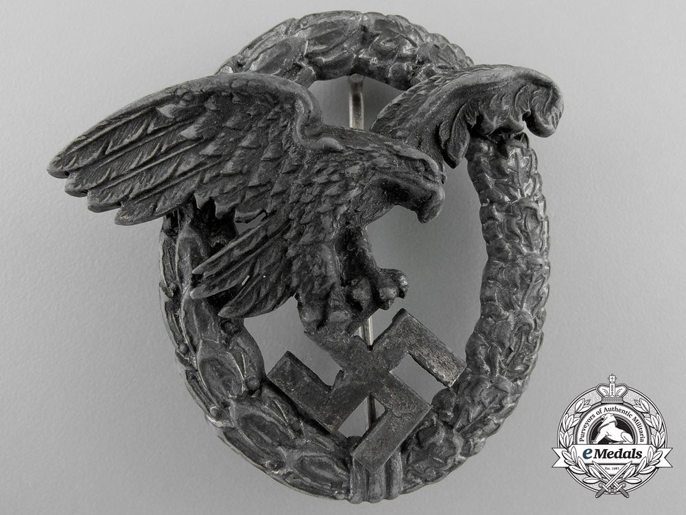 eMedals-Germany. A Luftwaffe Observer's Badge by P. Meybauer, Berlin