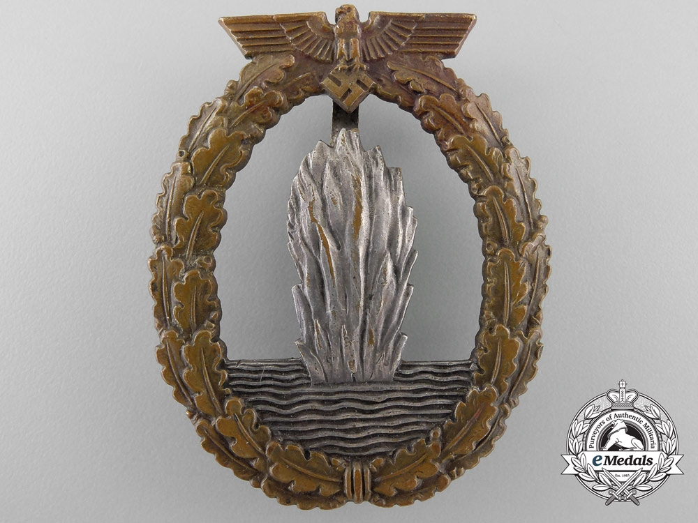 eMedals-A Kriegsmarine Minesweeper Badge
